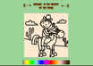 create a great Digital Coloring Book for Children, will feature the Child's Name on Every page! small2