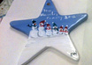 hand paint and personalize a snow family ceramic ornament for you small2