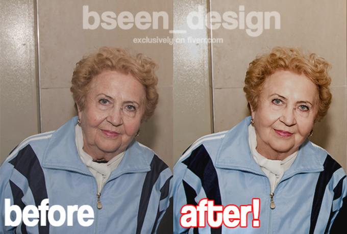 professionally Retouch, Fix, Edit, Your Image