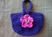 crochet you this cute handmade wristlet purse small2