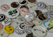 make ten 25mm circular badges from your own designs and send to anywhere by first class post, shipping costs apply small2
