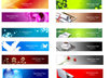 design a custom advertising Banner, custom banner, website banner, web banner small2