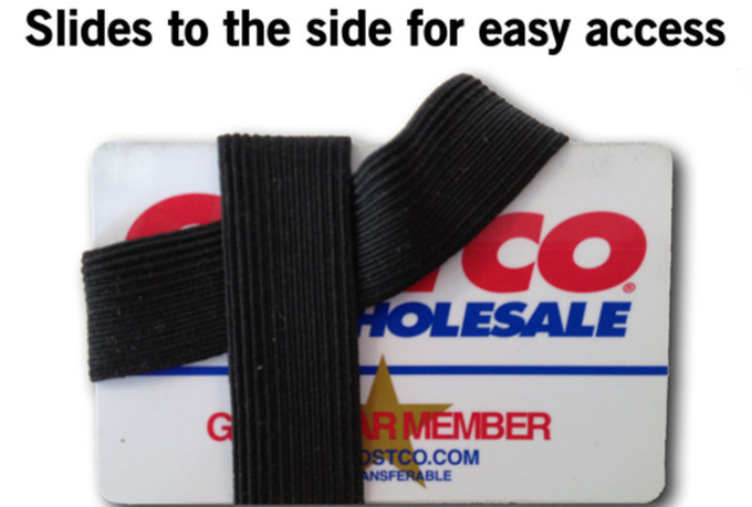 make you an awesome elastic wallet and mail it to you