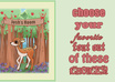 personalize this adorable cupcake or deer poster for your childrens room small3