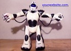 let my ROBOT dance and place your website url or another short text next to him on the wall small3