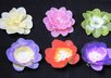 create a sequin center flower hair clip small3