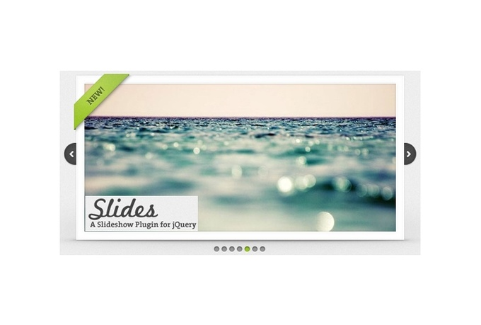 make a slideshows using javascript cool effect