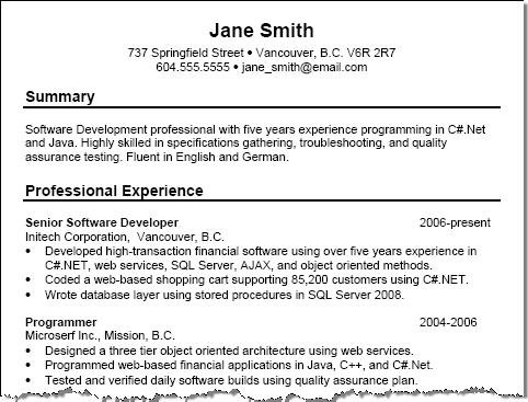 Profile Summary For Resume Examples How To Write A Resume Summary Profile  Summary For Resume Examples  Customer Service Example Resume