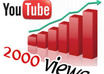 marketing your youtube video by adding 2000 views, 100 likes without 24 hours