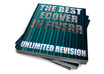 design a professional high quality ebook cover with 5 different outputs