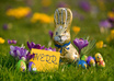 send you Easter Bunny Images with your message small1