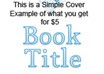 design a custom book cover small1