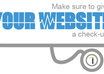 test your WEBSITE as a Consumer and Seo Consultant
