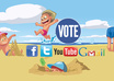 give you 200 facebook vote or likes  any contest