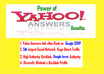 give 10 Yahoo Answers Promoting your Website with Level 2 or Higher Profile