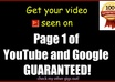 do YouTube SEO to Increase your current UTube, Google or G00Gle Videos rankings plus include Free Views, Likes, Subscribers n Comments