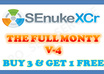 use SEnuke XCr with ★THE FULL MONTY★ template to create High Quality Google Friendly Backlinks