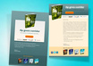 make mailer for your ebook promotion, creative, attractive, professional with action button small1