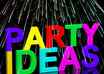 provide party planning help small1