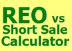 provide an Reo vs short sale calculator in MS Excel for real estate investors or agents plus bonus gig