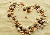 write your name or short message in the sand with seashells on the NC coast and email you a picture