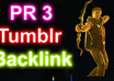 give you backlink from my pr 3 tumblr blog which gives you insane Google authority and great ranking advantage ,cut your competition down