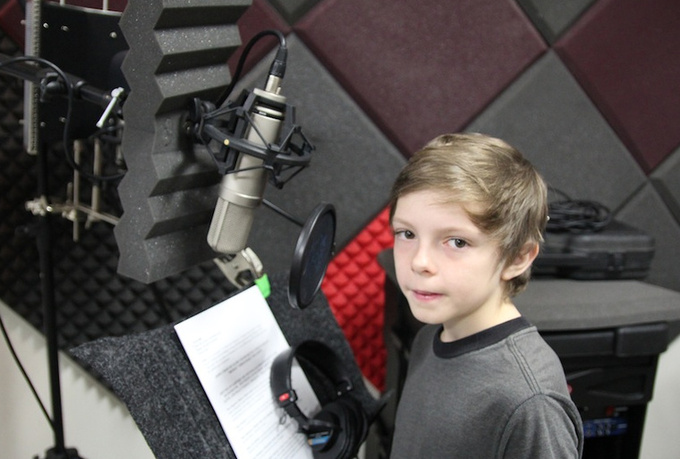 record a 60 sec professional boys voiceover, narration, character and or testimonial