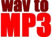 convert 5 audio files from WAV to MP3 320kbps