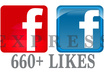 give 660 quality facebook likes to your post, photo, link by 660 different USA profile accounts within 12 hours