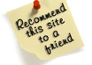 provide you recommendation of any website, blog, page by sharing 850 button