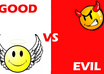 promote whatever you want in a battle between good and evil small1