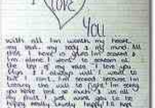 Love Letter for Her, Him/ Girlfriend, Boyfriend/ Husband, Wife