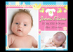 design an amazing custom new born baby birth announcement to announce your precious new arrival