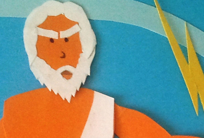 create a ZEUS paper animation