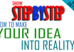 showstepbystep how to get your idea or invention made