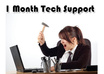 fix any problems you have with your Windows computer and other devices for 1 month tech support