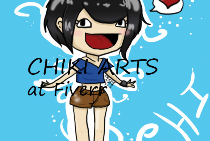 draw a Chibi of you or any character you want