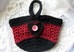 crochet you this cute handmade wristlet purse small1