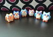 create you a very cute custom polymer clay owl in your choice of colours small1