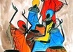 sell excellent, high quality African Art Paintings
