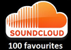 100 Soundcloud Favourites for up to 4 of your tracks on soundcloud profile