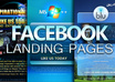 create a stylish Facebook landing page