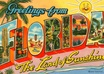 send you an awesome postcard from FLORIDA