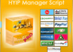 give you HYIP Manager script for investment sites