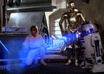 make you or a message in to a hologram from R2D2