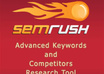 run an SEMrush report for up to 8 domains or keywords