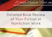 write a detailed book review of your fiction or nonfiction work
