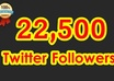 add 22,500 twitter followers to your account twitter, No un follow, eggs