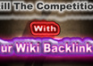 create 750++ wiki Backlinks To Your Website With Your Keyword And Submit It To Ping Sites For Faster Indexing FREE Lindexed