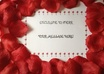create a loving message / online invitation for engagement, wedding, proposal, date, birthday, wife, lover, friend,